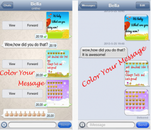 whatsapp sohbet rengi değiştirme