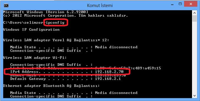bilgisayar ip adresi (2)