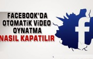 facebook otomatik video oynatma kapatma android