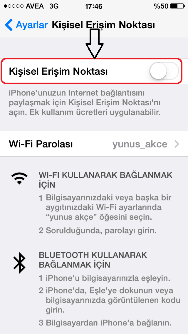 how to create a wifi hotspot on iphone 5s