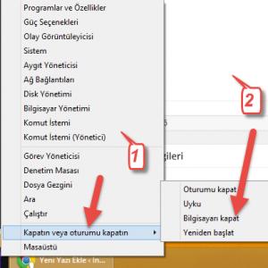 windows-8.1-hızlı-kapatma-kısayol-tuşu