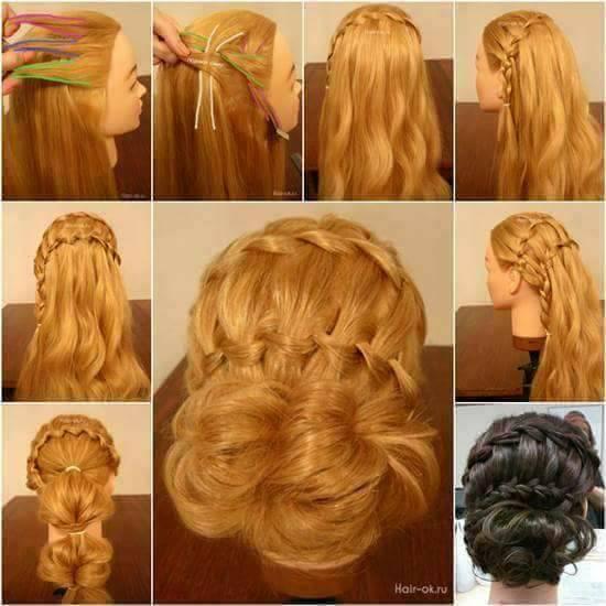 Gelin Saçı Modelleri (23)