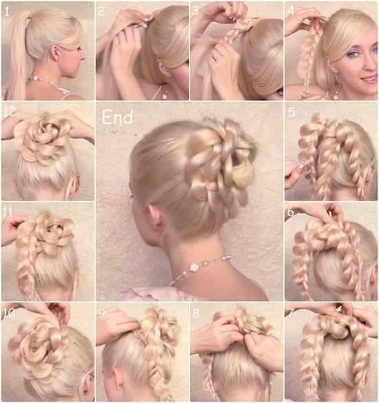 Gelin Saçı Modelleri (31)