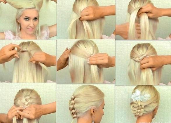 Gelin Saçı Modelleri (42)