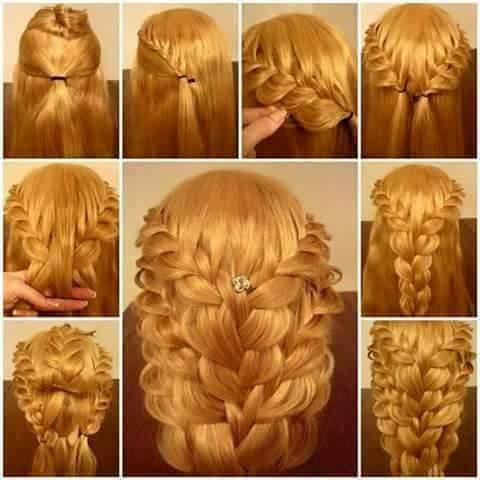 Gelin Saçı Modelleri (6)