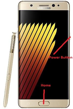 Samsung Galaxy Note 7 Ekran Görüntüsü Alma (3)
