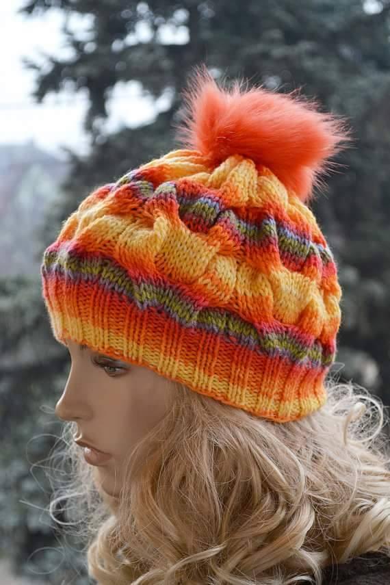 örgü şapkalar (27)